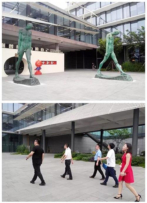 长风联盟会员科技企业领导赴南通杭州考察